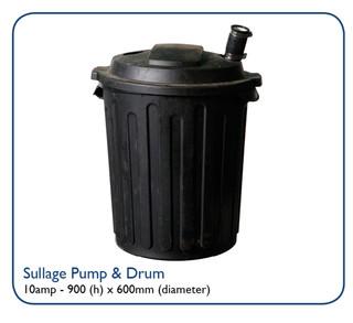 Sullage Pump & Drum