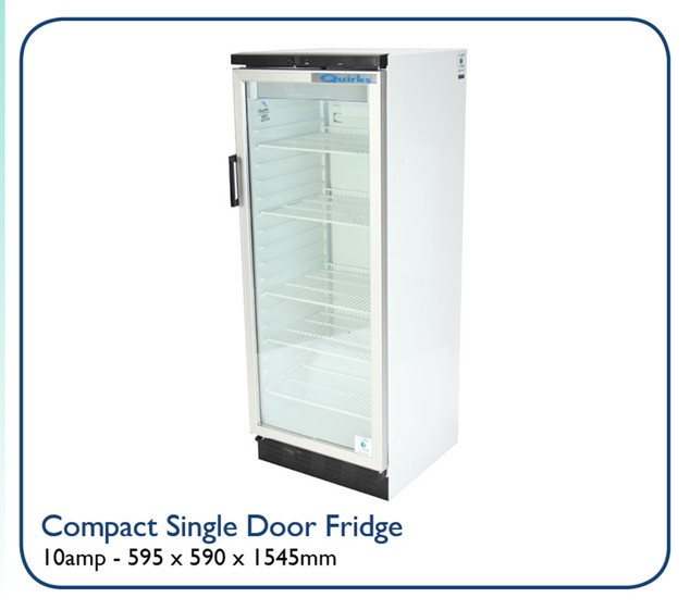 Compact Single Door Fridge