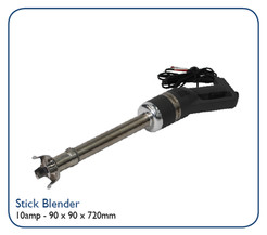 Stainless steel blade. 350mm Shaft. Power 440W 10 power required.