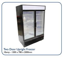 Two Door Uprigh Freezer