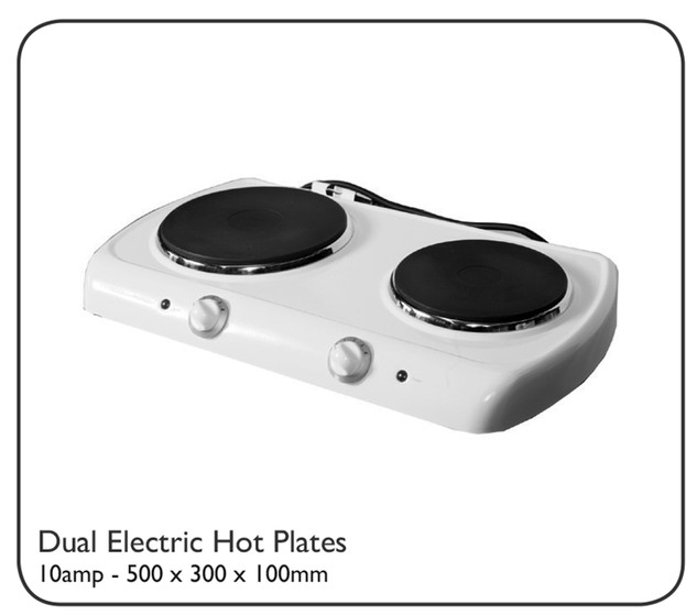 Dual Electric Hot Plates