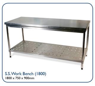 Stainless Steel Work Benc (1800)