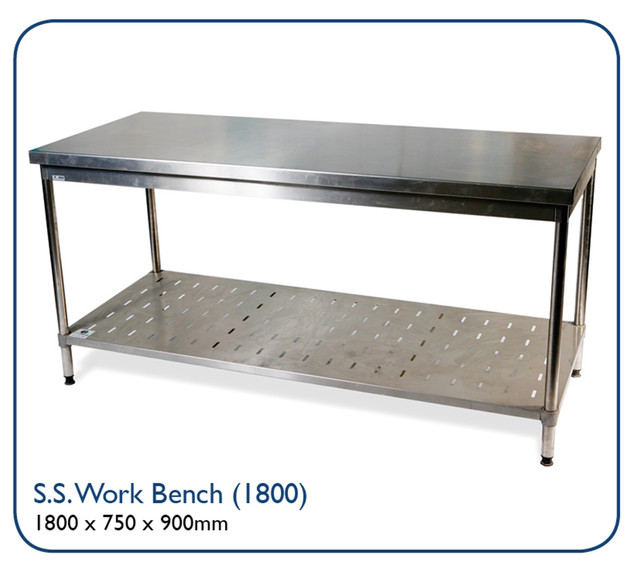 Stainless Steel Work Benc (1800)