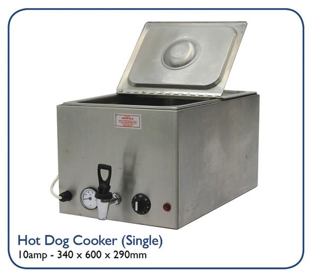 Hot Dog Cooker (Single)