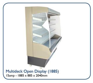 Multideck Open Display (1885)