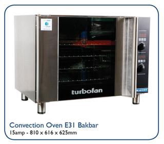 Convection Oven E31 Bakbar