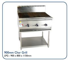 900mm Char Grill