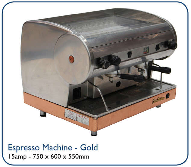 Espresso Machine - Gold