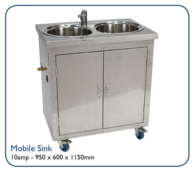 Mobil Sink - self-contained portable sink