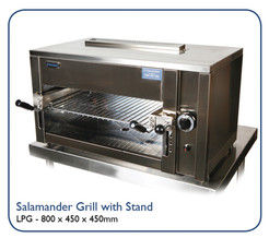 Salamder Grill with stand