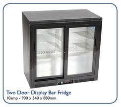 Two Door Display Bar Fridge