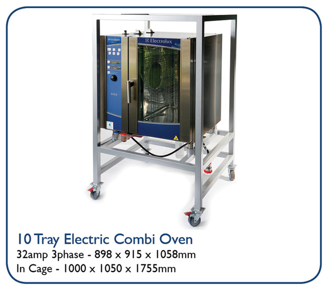 10 Tray Electric Combi Oven