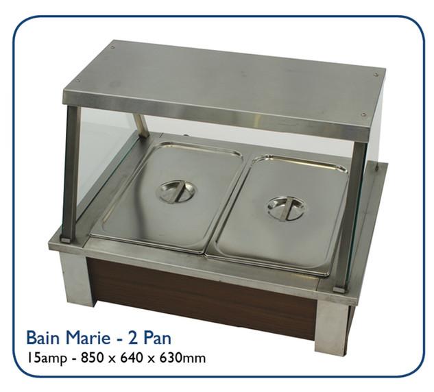 Bain Marie - 2 Pan