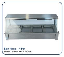 Bain Marie - 4 Pan
