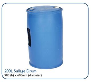 200L Sullage Drum