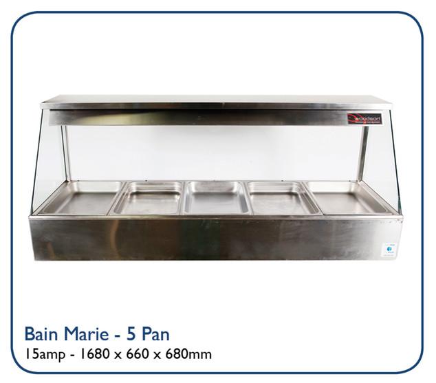 Bain Marie - 5 Pan