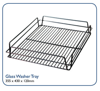 Glass Washer Tray