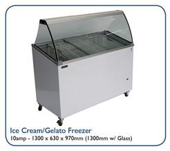 Ice Cream/Gelato Freezer