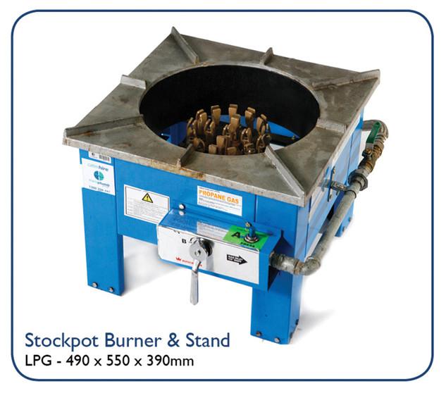 Stockpot Burner& Stand