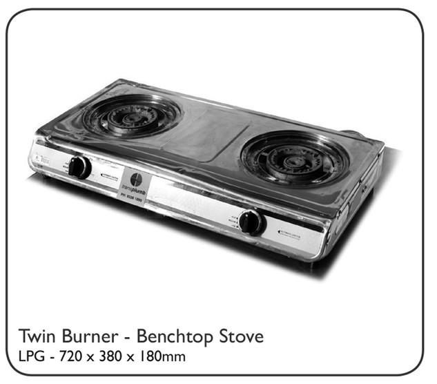 Twin Burner - Benchtop Stove