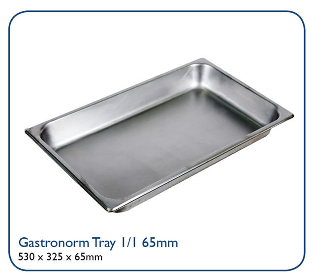 Gastronorm Tray 1/1 65mm deep