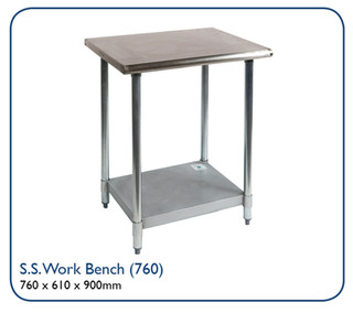 Stainless Steel Work Bench (760)