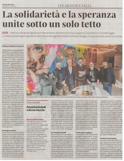 Corriere del Ticino 12.03.2020