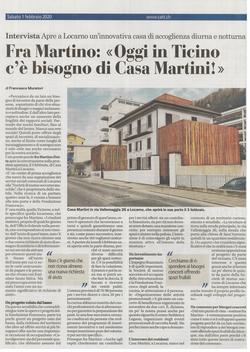 Corriere del Ticino 01.02.2020