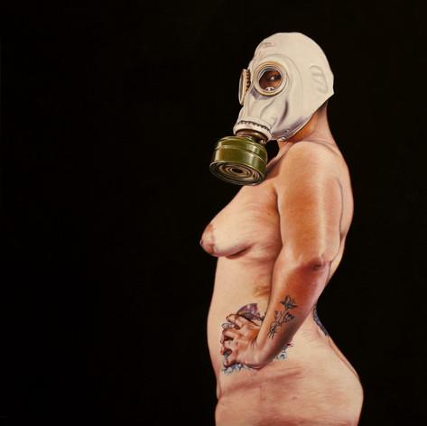 """De la serie """"Parábola y vacío"""" Desnudo 2"""