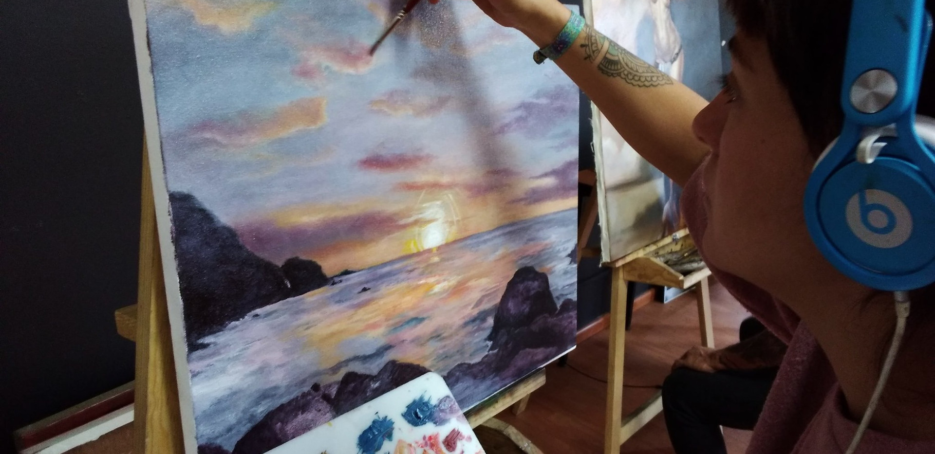 Taller de Pintura al óleo.