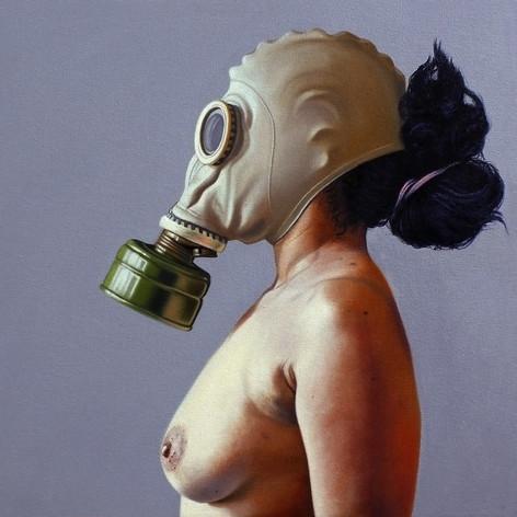 """De la serie """"Parábola y vacío"""" Desnudo 1"""