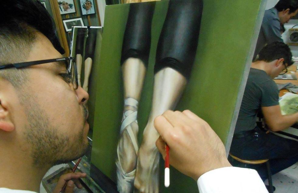 Taller de Técnicas de Pintura