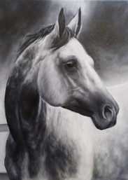 Taller de técnicas de pintura Alumno Luis Óleo sobre lienzo