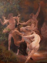 Taller de pintura al óleo Alumna Evelyn Rodríguez Óleo sobre lienzo