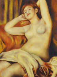 Taller de Pintura al óleo Alumna Perla Carvalho Óleo sobre lienzo