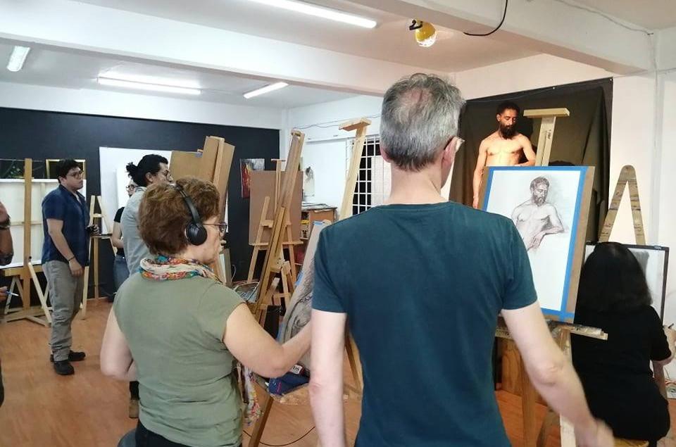 Sesiones de Dibujo con modelo