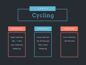 Outline of cycling workouts talked about in the article