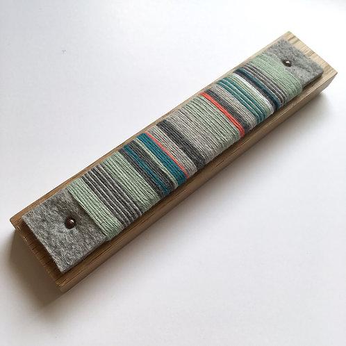 Kingfisher. Yarn wrap. Small 4