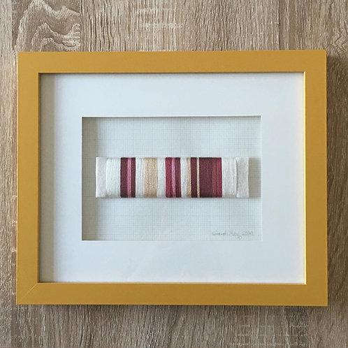 Spice Market: Framed yarn wrap