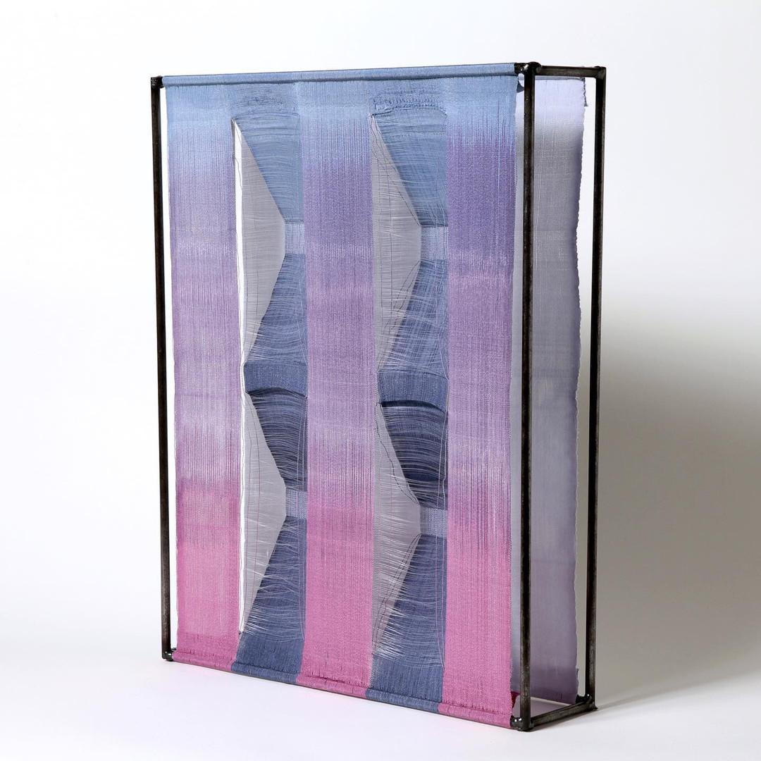 3D woven textile art