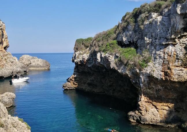 Snorkeling in Cala Rafalet.jpg