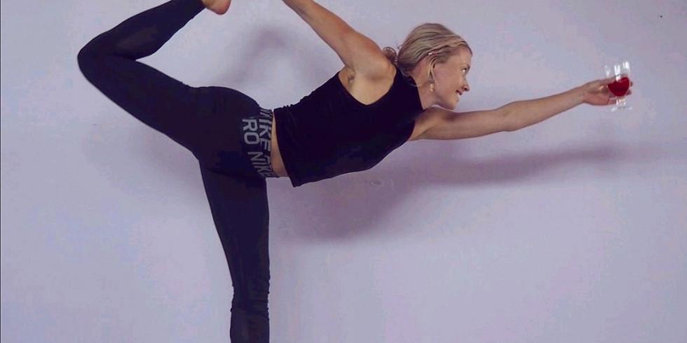 Taller de Yoga con vino
