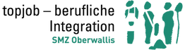 logo topjob - berufliche integration oberwallis