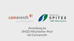 careanesth, mitarbeiter pool, spitex oberwallis, smz oberwallis