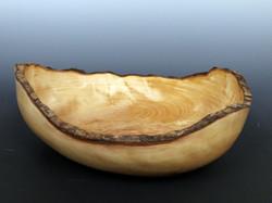 Natural edge bowl