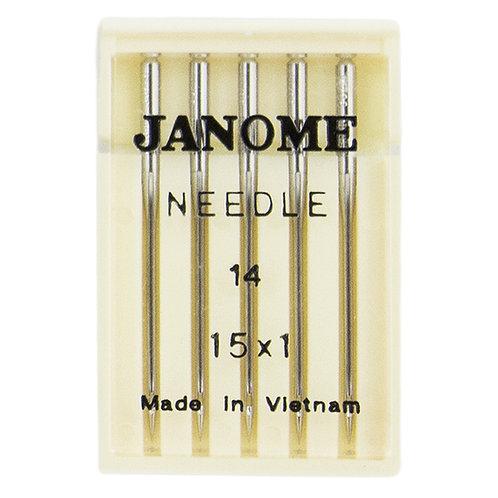 Janome Universal Needle Size 14 15x1