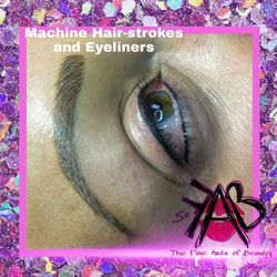 Get 2 Areas done! Eyebrows Eyeliner Combo!