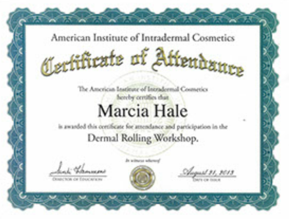Dermal Rolling and Needling
