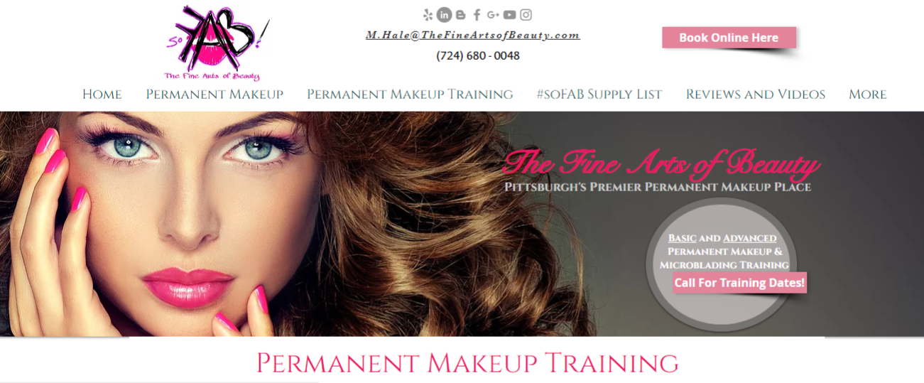 The Fine Arts of Beauty | Cranberry | Permanent Eyebrows