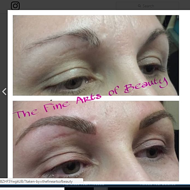 tattoo brows